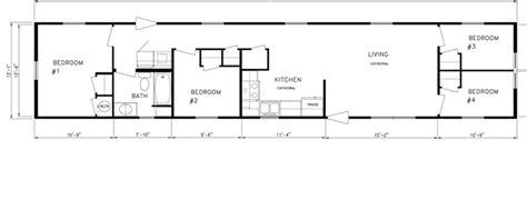 21 Artistic 14x70 Mobile Home Floor Plan