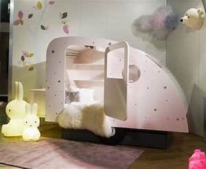 Cute Bed in Shape of Caravan – Caravan Bed Home