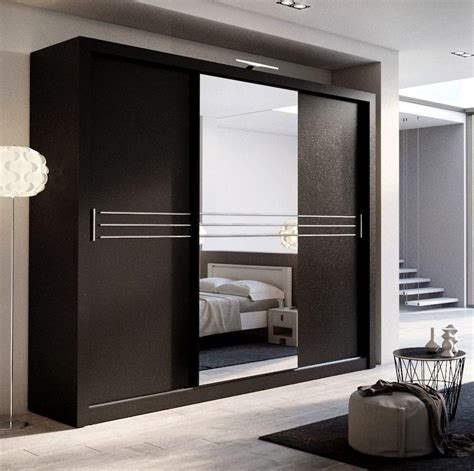 Kitchen Cupboards With Sliding Doors by Brand New Modern Bedroom Wardrobe Sliding Door With Led