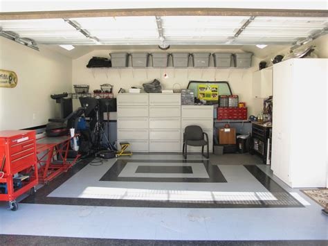 Garage Storage Shelves Design