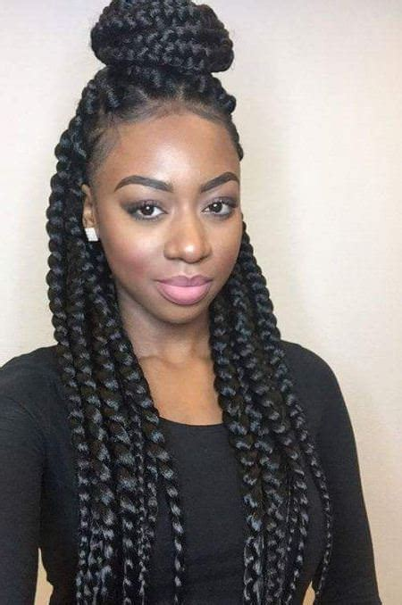 20 hot black braided hairstyle