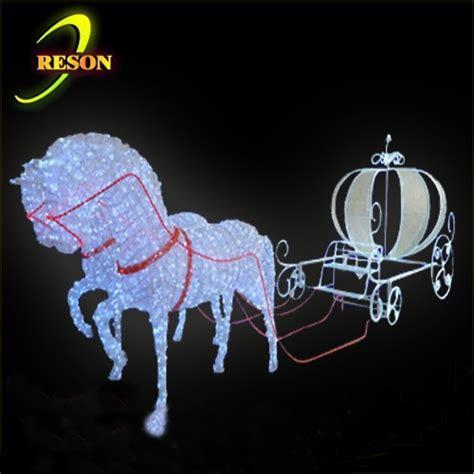 christmas decoration light pumpkin cinderella horse
