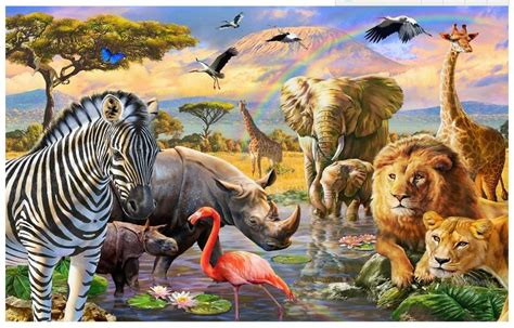 3d Wallpapers Of Animals by Photo Wallpaper Custom 3d Murals Wallpaper Animals