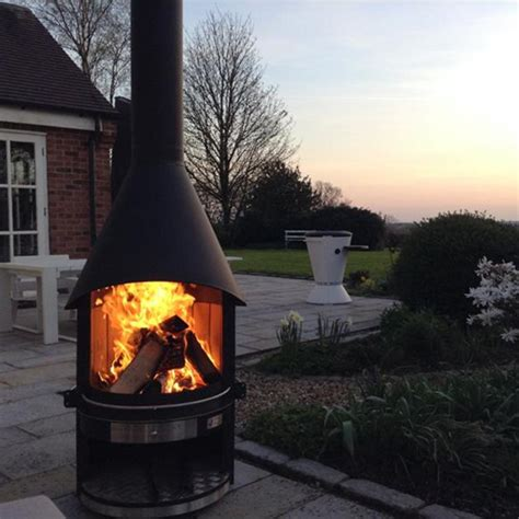 Bbq And Fireplace - outdoor fireplace and barbeque for summer entertaining by