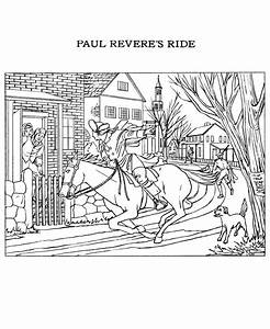 The American Revolution Coloring Page - Coloring Home