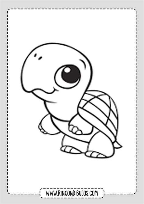 Tortuga Para Colorear Pinterest Tortugas Dibujos Y Moldes