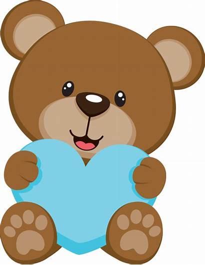 Teddy Bear Clipart Crown Bears Osos Babies