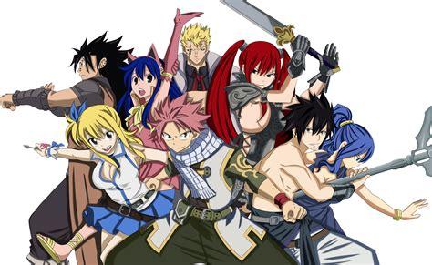 strongest team fairy tail daily anime art