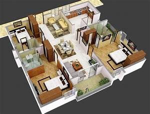 House, Interior, Plans, -, House, Interior