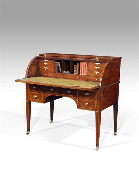 Georgian Desk by Georgian Cylinder Desk C 1790 5138 La57597