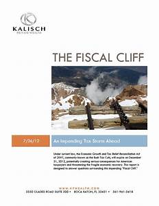 New Fiscal Cliff Whitepaper