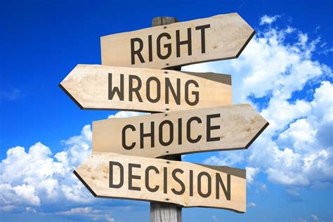 Difficult Decision how to make difficult decisions lessons