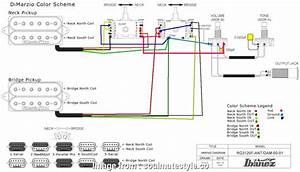 2 Humbucker 5  Switch Wiring Nice Need Help With Ibanez