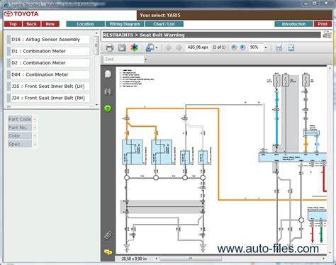 online auto repair manual 2007 toyota yaris on board diagnostic system toyota yaris repair manuals download wiring diagram