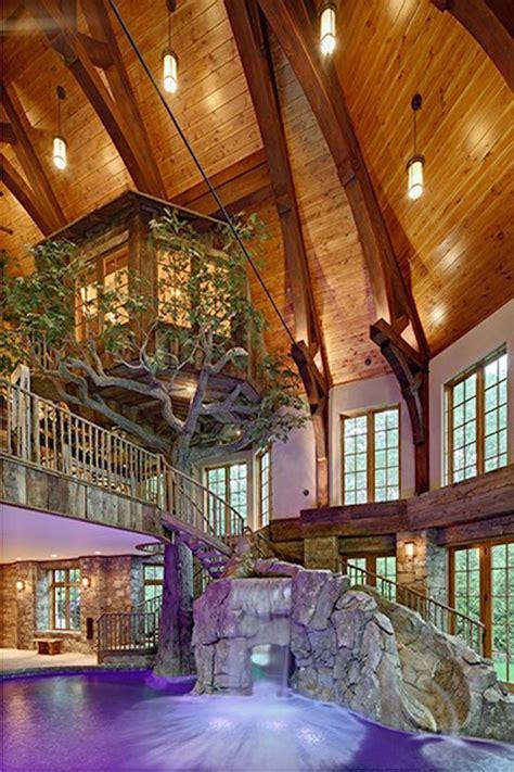 lakefront dream home lists  indoor tree house extravaganzi