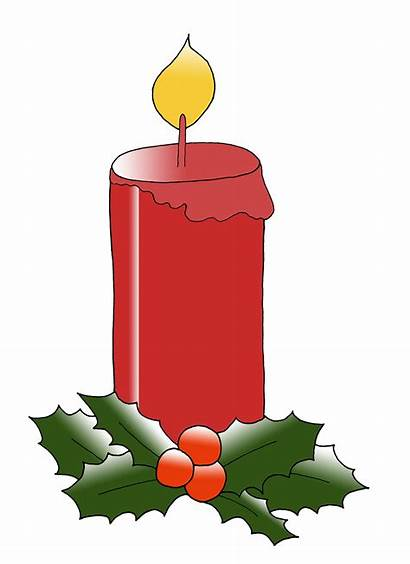 Christmas Candle Clipart Clip Clipartmag