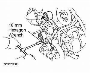2004 Toyota Tacoma Serpentine Belt Routing And Timing Belt