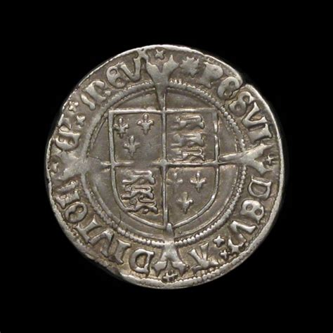henry viii   silver groat amr coins