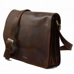 Sac Cuir Bandoulière Homme : sac besace messenger cuir homme tuscany leather ~ Melissatoandfro.com Idées de Décoration