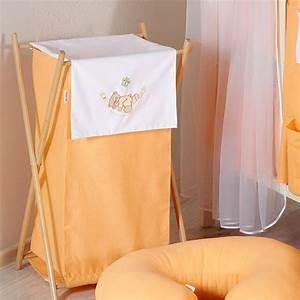 Panier à Linge Bébé : panier linge orange pour chambre b b orange ours hamac ~ Teatrodelosmanantiales.com Idées de Décoration