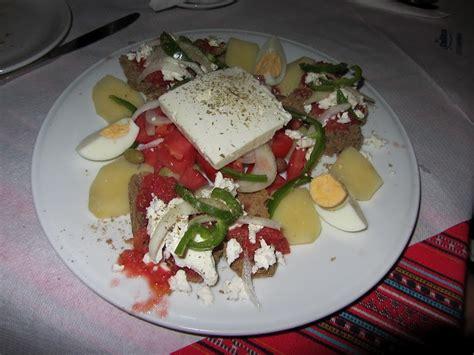 cucina cretese cuor di cucchiaio insalata cretese
