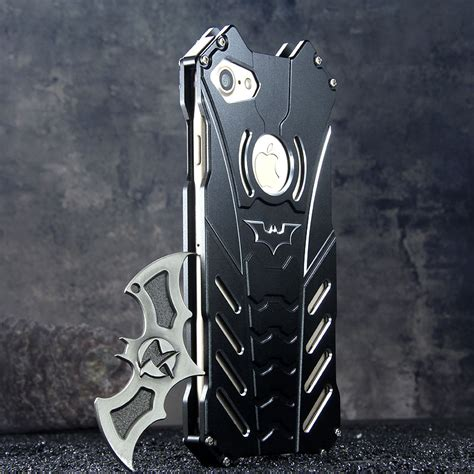 R-Just Batman Shockproof Aluminum Shell Metal Case with