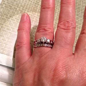 Best ratio for 3 stone ring what do you think about 1ct for Kona wedding rings