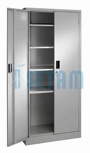 Armoire De Bureau Métallique : armoire metallique presta armoire porte battante 5 niveaux ~ Melissatoandfro.com Idées de Décoration