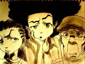 176 best images about Boondocks on Pinterest | Cartoon ...