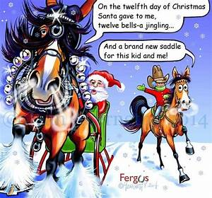 Twelfth Day of ... Funny Christmas Horse Quotes