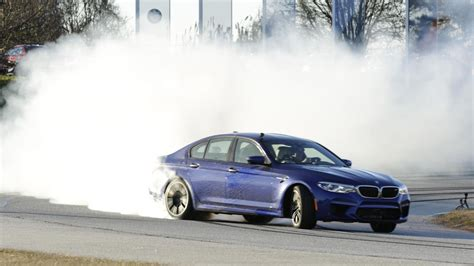 We Drift And Slide In The Bmw M5 At Ces 2018