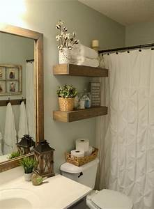 20, Fabulous, Bathroom, Style, Designs, With, Floating, Wall, Shelves