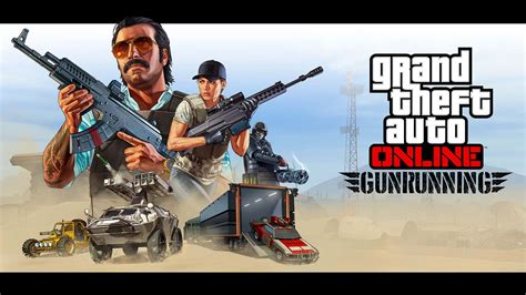 Gta Online Gunrunning Coming June 13th, Trailer Released