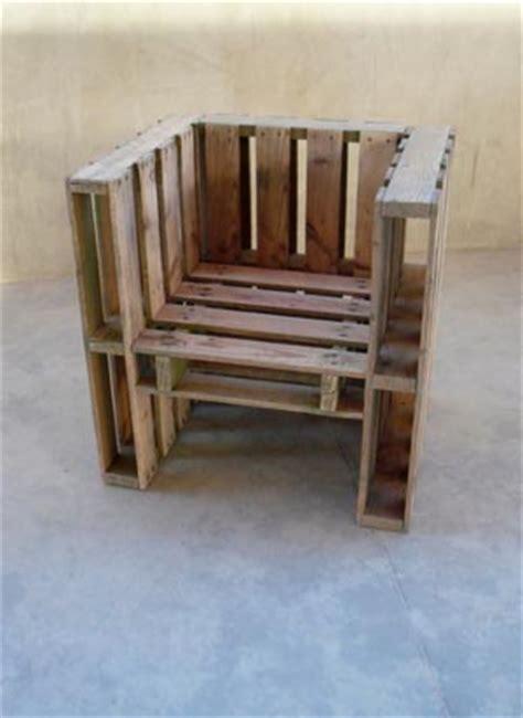 plan chaise de jardin en palette palettes faites vos meubles esprit cabane idees