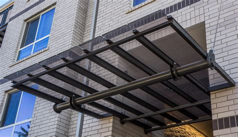 Glass Awning Residential - glass awning issaquah h l aluminum usa
