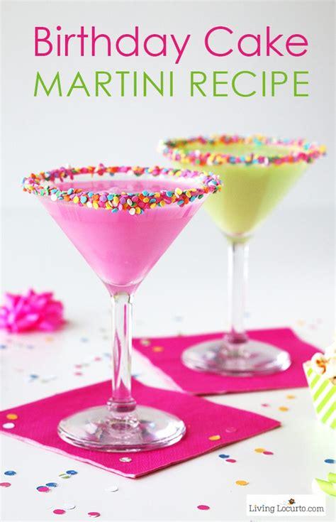 Birthday Cake Martini Recipe  Easy Party Cocktail