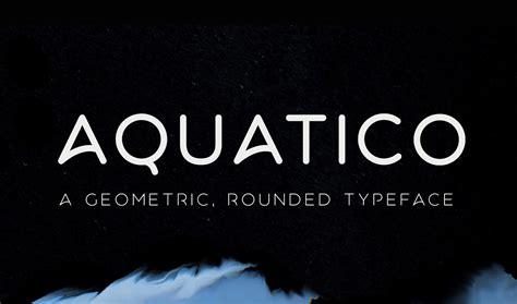 font aquatico freetypography