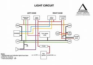 Simple Motorcycle Wiring Diagram