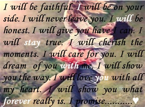 I Will Stay With You Forever Quotes