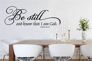 Bible verse wall stickers peenmediacom for Biblical wall decals ideas
