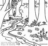Coloring River Forest Water Landscape Colouring Sheet Inspire Conservation Adults Bruno Mars Designlooter Mystic Season Open Living Coloringpagesfortoddlers Dentistmitcham Disimpan sketch template