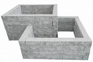 Gartenmauern Aus Stein : hochbeet bausatz aus granit stein naturstein online kaufen ~ Michelbontemps.com Haus und Dekorationen