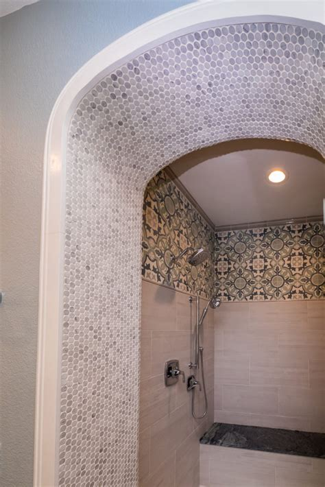 bathroom design moroccan inspired blue poppy design
