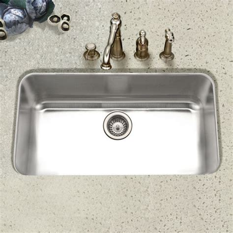 kitchen sink stl menu ex stl 3600 1 eston large single bowl kitchen sink in