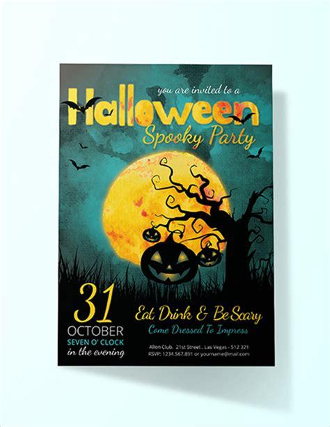 halloween party invitation designs design trends