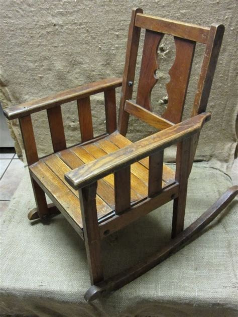 ebay rocking chairs australia vintage childs wooden rocking chair antique stool