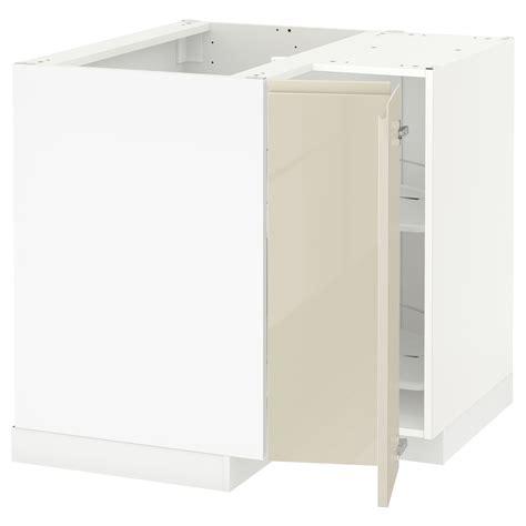 ikea corner base cabinet metod corner base cabinet with carousel white voxtorp high