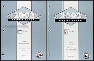 car repair manuals download 2003 cadillac seville electronic valve timing 2003 cadillac seville repair shop manual original 2 volume set