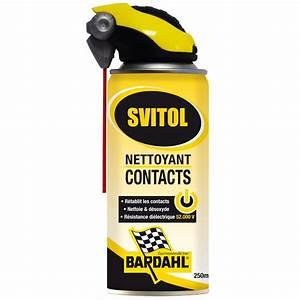 Nettoyant Contact Electrique : nettoyant contacts svitol 250 ml ~ Melissatoandfro.com Idées de Décoration