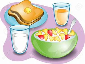 Milk And Cereal Clipart (55+)
